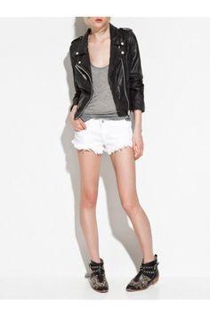 $65.99 Black Faux Leather Jacket