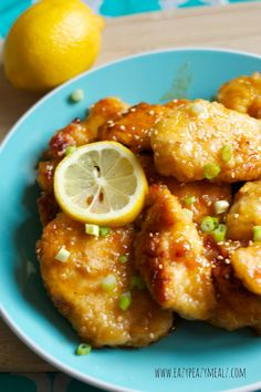 lemon chicken asain