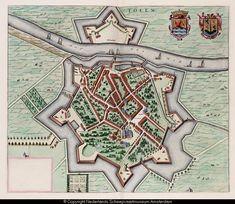Kaart van Tholen