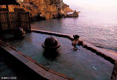 Natural Onsen in Japan