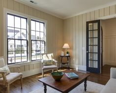 Easy Diy Painting Panelling Astounding Traditional Living Room Panneling Dark Contrast And Beige Painted Panels With