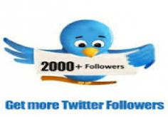 provide you 2,000 High Quality Twitter followers