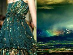 Nature Inspired Dresses by Liliya Hudyakova