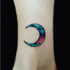14 Galaxy-Inspired Tattoos That Are Out of This World via Brit + Co.