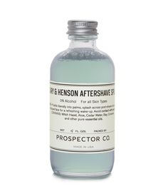 Peary  Henson Aftershave | US$18 | BUY AT PROSPECTORCO.COM (located by e-tailtherapy.com - the best guide to online shopping)
