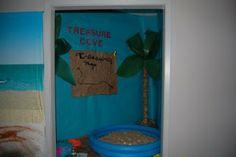 Clutter-Free Classroom: Beach / Ocean Themed Classroom