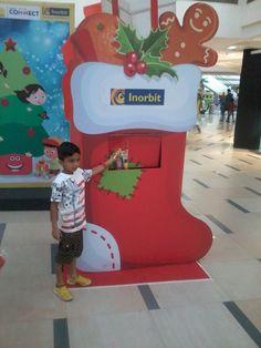 The little one turned Santa! #InorbitMakesMeSmile