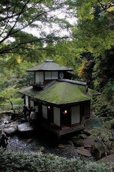 I would love to watch a Japanese tea ceremony & visit a tea house. Japanese Tea House, Traditional Japanese House, Japanese Architecture, Architecture Design, Sustainable Architecture, Residential Architecture, Pavilion Architecture, Cultural Architecture, Garden Architecture