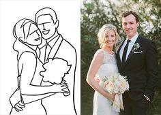 20 лучших поз для свадебной фотосессии, молодожёны обнимаются