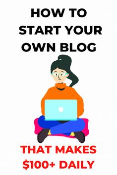 How to start your own blog today. Step by step learn how to start and grow a successful blog. YOu will also learn how to add Youtube together with blog and make money