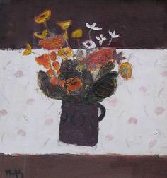 sandy murphy paintings - Google Search Flower Vases, Flowers, Flower Paintings, Still Life Art, Dinner Table, Choices, Bohemian, Contemporary, Google Search