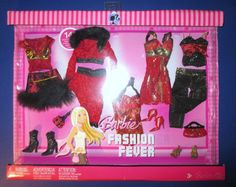 Barbie Fashion Fever Pack of Clothing