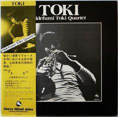 HIDEFUMI TOKI QUARTET / TOKI / JAZZ / TBM JAPAN OBI TBM-46