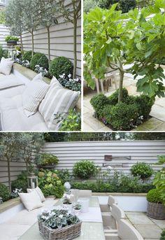 Un giardino dal sapore mediterraneo