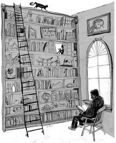 Leslie Herman        Há pessoas que têm uma biblioteca como os eunucos um harém.   Victor Hugo   (é verdade, há quem colecione livros ...