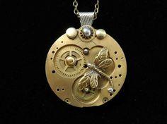 Handmade Steampunk Jewelry For Sale - Imgur #SteamPUNK ☮k☮
