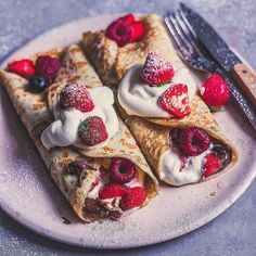 Crepes & berries Yay or Nay? Follow @Dakaaar . . @healthy_belly made this sweet breakfast love it . . #strawberry #dessert #strawberries #strawberrycake #yummy #strawberryshortcake #strawberryjam #strawberryjelly #strawberrypicking #cake #strawberryfield #strawberryshake #strawberrycream #strawberryseason #strawberrycough #strawberrys #strawberryjuice #foodporn #strawberrylover #strawberryblonde #instafood