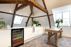 Kitchen #mmousse #church #amsterdam #space #location #inspiration #multifunctional #office #table #drinks #connect #share #view #kitchen #healthy #wood
