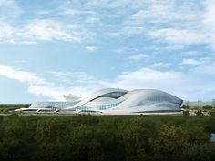 New Century City Art Centre  | Cheengdu, China | Zaha Hadid