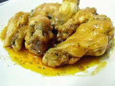 Alitas de pollo en salsa barbacoa | Cocinar en casa es facilisimo.com