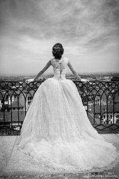 sareh nouri spring 2016 bridal esther long sleeve mermaid wedding dress keyhole back veil