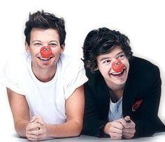 Louis + Harry = Larry Stylinson <3 cute