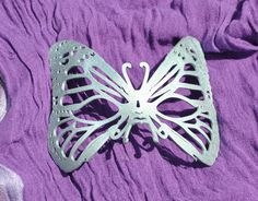 3d Printed Butterfly Masquerade Mask  #3dprinting #gothic #mask #masquerade #novelty #NoveltyItems