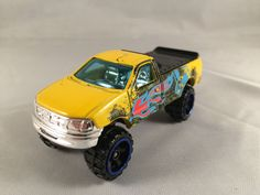 2011 Team Hot Wheels 5 Pack Target EXCLUSIVE 1997 FORD F 150 Truck Yellow LOOSE #HotWheels #Ford