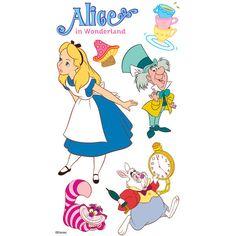 Disney Alice In Wonderland Dimensional Sticker