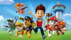 PAW Patrol, PAW Patrol, we'll be there on the double! You and your child can listen and sing along to the PAW Patrol theme song and join Ryder, Marshall, Rub. Los Paw Patrol, Paw Patrol Rocky, Paw Patrol Pups, Puppy Patrol, Personajes Paw Patrol, Imprimibles Paw Patrol, Shimmer Y Shine, Paw Patrol Party Supplies, Cumple Paw Patrol