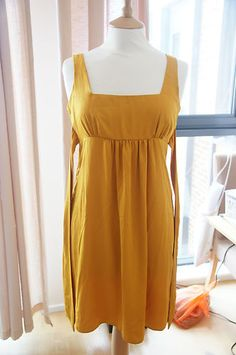yellow dress size 8 8 8