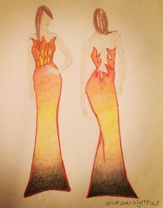 A Hunger Games Drawing
