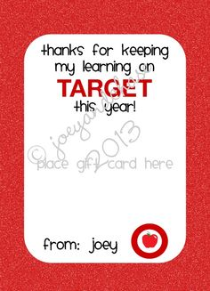end of year gift for the teacher! I just ordered this to use for Cara's teacher! Too cute and I love my printables!
