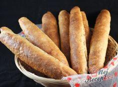 Nejlepší recepty na domácí rohlíky | NejRecept.cz How To Make Bread, Food To Make, Bread Making, Hot Dog Buns, Hot Dogs, Bread And Pastries, Sweet Potato, Sausage, Food And Drink