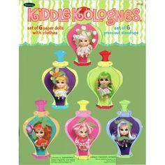 Kiddle Kolognes paper dolls