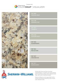 Grey Paint Colors, Kitchen Paint Colors, Paint Colors For Home, Wall Colors, House Colors, Gray Paint, Granite Paint, Brown Granite Countertops, New Venetian Gold Granite