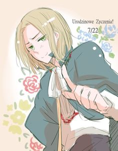 But this is not his birthday ;-; His Birthday is on 11/11. At least in Polish version of manga. It was change, because 7/22 was a little bit... controversial.