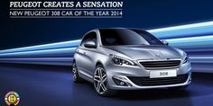 "The new #Peugeot308 voted 2014 ""CarOfTheYear"" #Peugeot #COTY #SIAG"