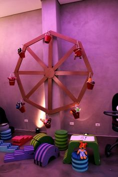 cool idea make a little fair for some childrens toys or dolls  MG
