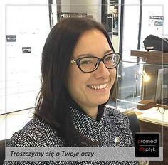 Okulary to jednak jest forma biżuterii. Ślicznie 😍😍😍 Pozdrawiamy Panią Sandrę. #optyk #optometrysta #okulary #styl #oczy #wzrok #badanie