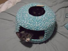 more cat stuff! and a use for all of that fabric that i just 'had' to have.