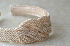m i s s . t e a & c o .: DIY: How to make a Rope Knot Headband