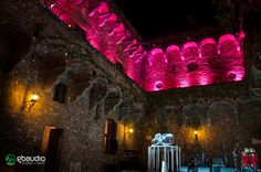 Lighting and sound for wedding at Castello di  Vincigliata - Florence, Italy