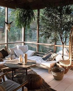 Best home decored apartment balcony spaces Ideas Outdoor Living Rooms, Outdoor Spaces, Appartement Design, Interior And Exterior, Interior Design, Decoration Inspiration, My New Room, My Dream Home, Sweet Home