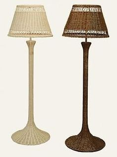 Wicker Lamps & Shades: Table Lamps, Floor Lamps, Hanging Lamps. Buy a Ceiling Swag Lamps at the Right Price. Hard to find End Table Floor Lamps in Stock.