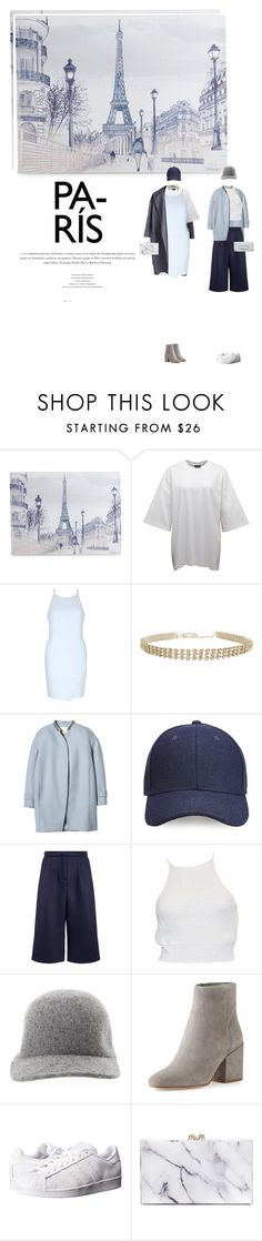 """""""[p a r i s]"""" by furhious ❤ liked on Polyvore featuring Graham & Brown, Humble Chic, Rebecca Taylor, Whistles, Emma Cook, STELLA McCARTNEY, Sam Edelman, adidas, Charlotte Olympia and Matt & Nat"""