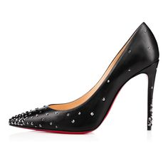 Women Shoes - Degrastrass Kid/strass - Christian Louboutin