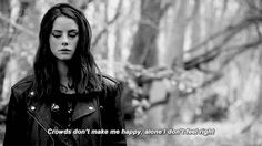 gif mine Black and White skins mygif bw kaya scodelario effy Skins UK effy stonem skins gif elizabeth stonem Skins Quotes, Film Quotes, Kaya Scodelario, Movies Showing, Movies And Tv Shows, Effy Stonem Style, Happy Alone, Non Blondes, Skins Uk