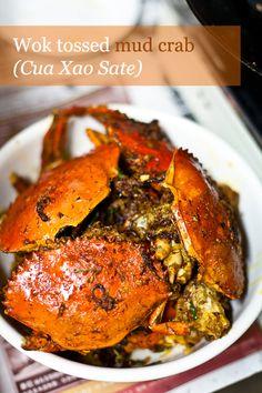 Wok Tossed Mud Crab (Cua Xao Sate)
