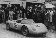 Jo Bonnier / Hans Herrmann, Porsche 718 RS60, Targa Florio, 1960 (winner).